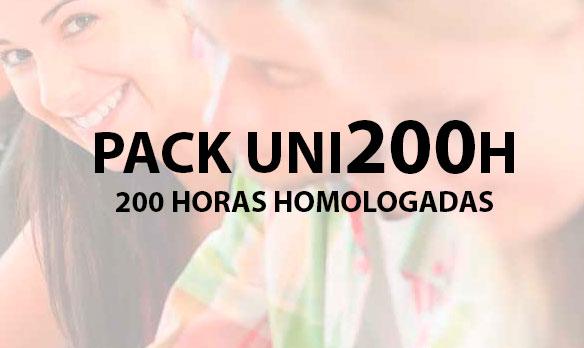 PACK UNI200 horas