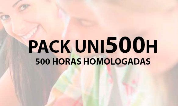 PACK UNI500 horas
