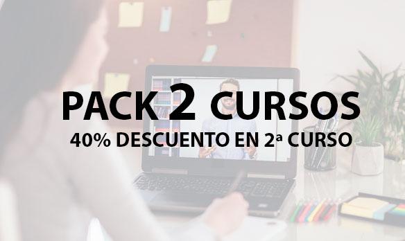 PACK 2 CURSOS – 40% de descuento en el 2º curso