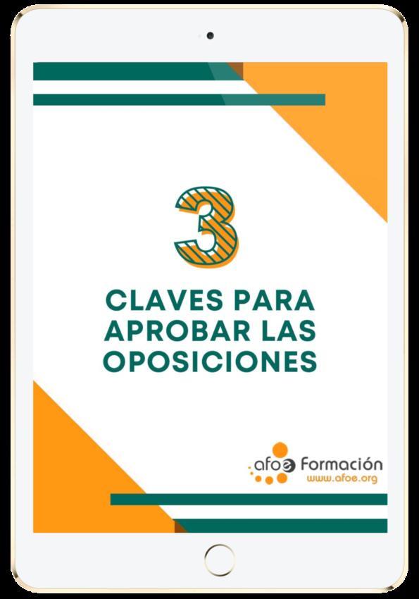 3 calves para aprobar las oposiciones afoe (1)-min